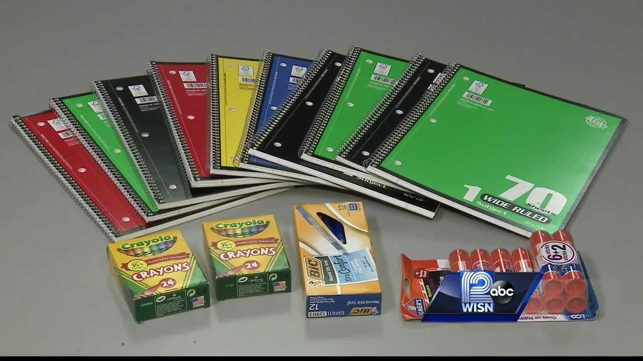 Helping kids in need get school supplies