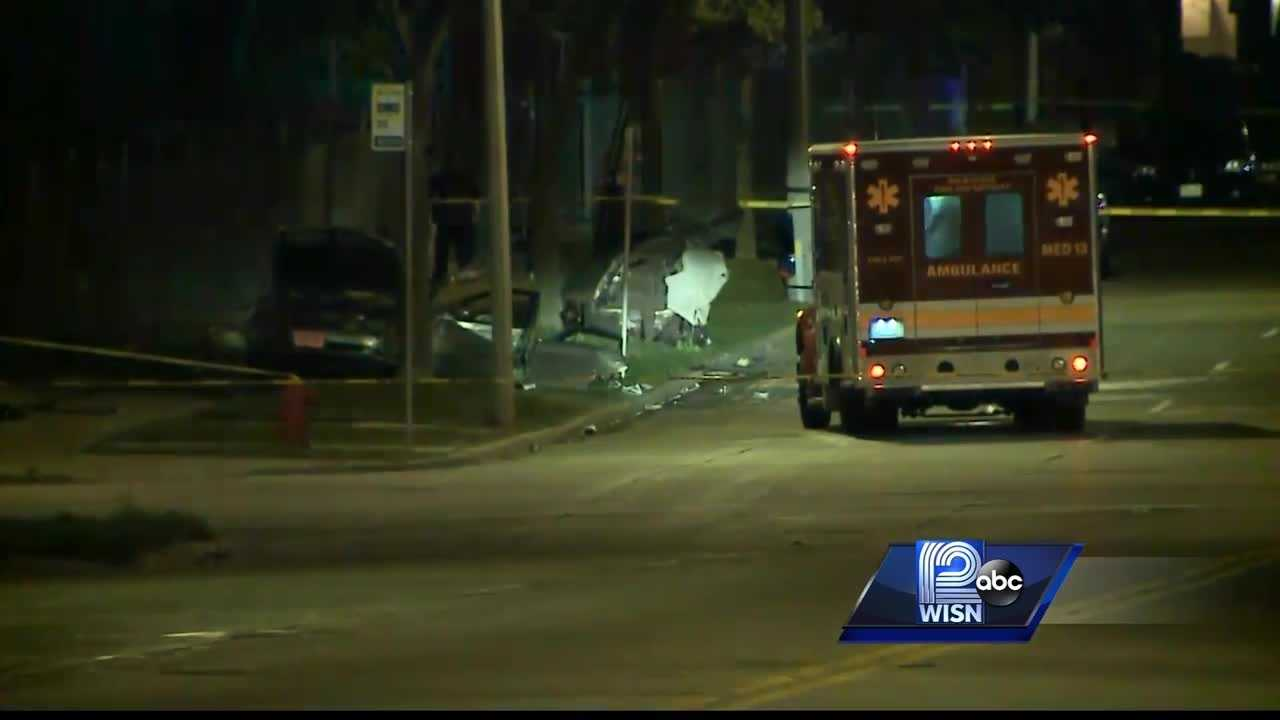 Crash reported in the area of 35th and Keefe in Milwaukee.
