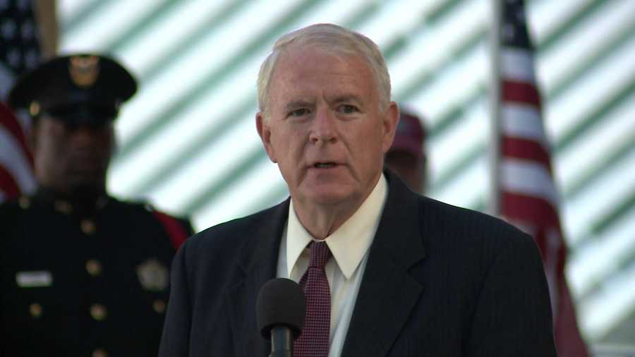 Milwaukee Mayor Tom Barrett spoke.
