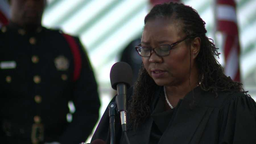 Milwaukee County Chief Judge Maxine White