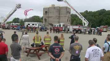 A remembrance ceremony was held in Oak Creek on Saturday. Names of the first responders died on 9/11 were read.