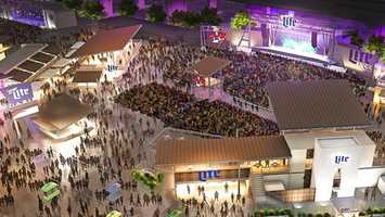 The Miller Lite Oasis on the Summerfest grounds is slated to have a whole new look and visitor experience for the 2017 festival season. |Summerfest.com