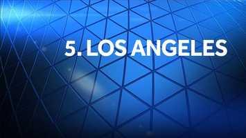 5. Los Angeles