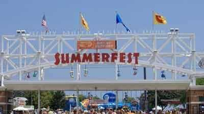 Summerfest gate (from a viewer) - 9492809