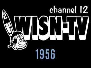 1956 - WISN-TV was an affiliate of the ABC and DuMont networks.