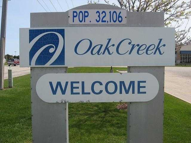 Oak Creek - Pop. 33,959Incidents of crime - 3,437