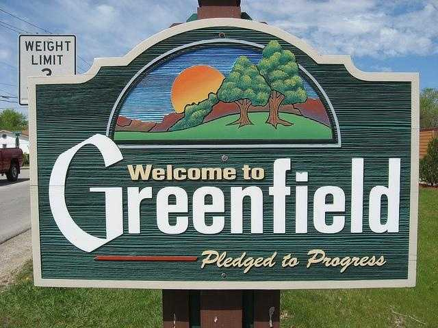Greenfield - Pop. 36,459Incidents of crime - 3,802