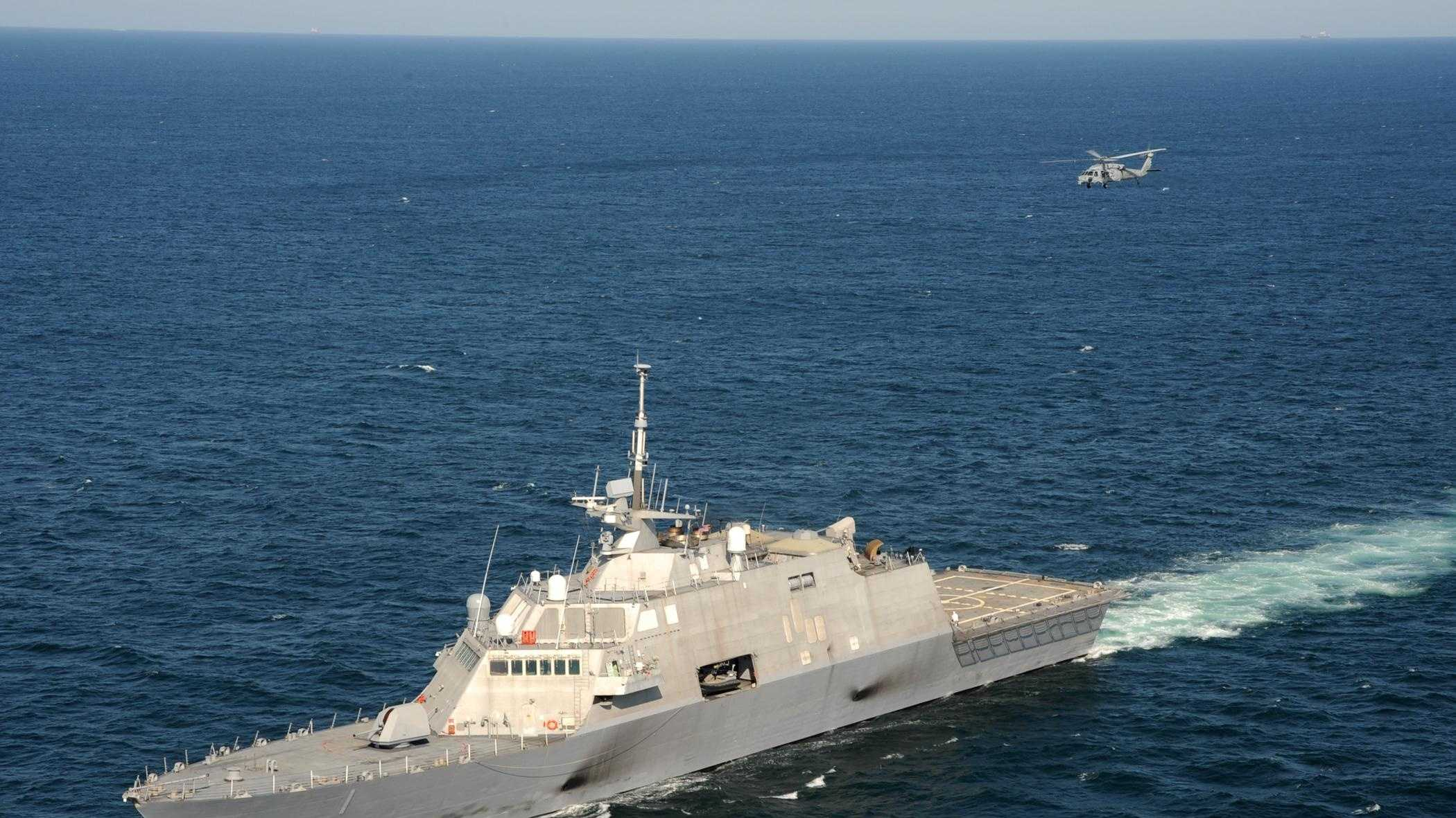 USS Freedom - a Littoral Combat Ship