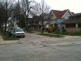 This is the neighborhood Alexis lived in, near 49th and Garfield.