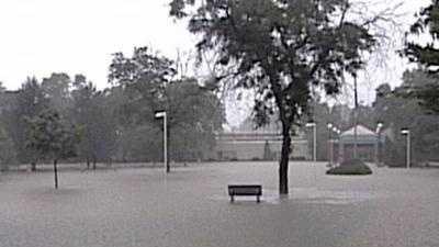 flooding at Nicolet High School - 24373811