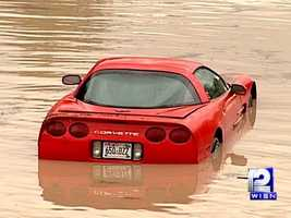 On July 22, 2010, up to 7.5 inches of rain fell in two hours in Milwaukee.
