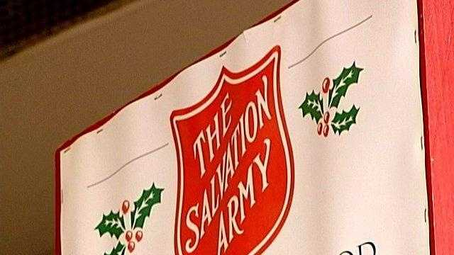 SALVATION ARMY DONATIONS DOWN