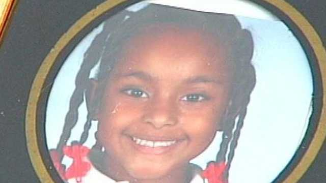 Seven-year-old Aiyana Osburn was hit by a car Monday afternoon and died from her injuries.