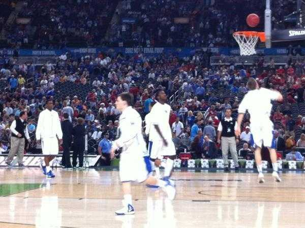 Behind The Scenes: UK, UofL Final Four Showdown
