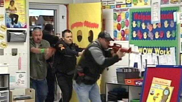 school shooting training