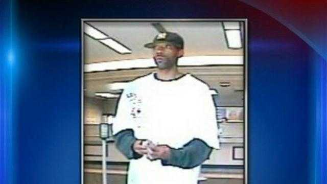 Louisville Metro Police search for the person responsible for a bank robbery early Friday morning.