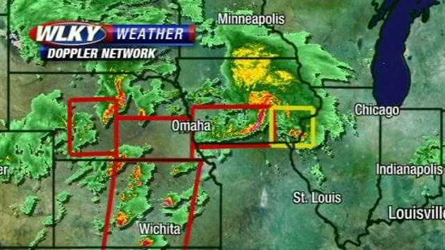 Over 80 reports of tornadoes... including some which were a half a mile wide. Meteorologist Jared Heil has the latest update.