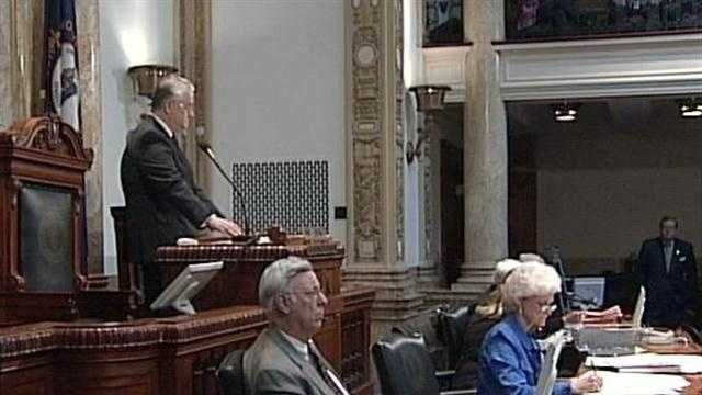 After a heated exchange between the governor and a top Kentucky politician, lawmakers got back to work Monday.