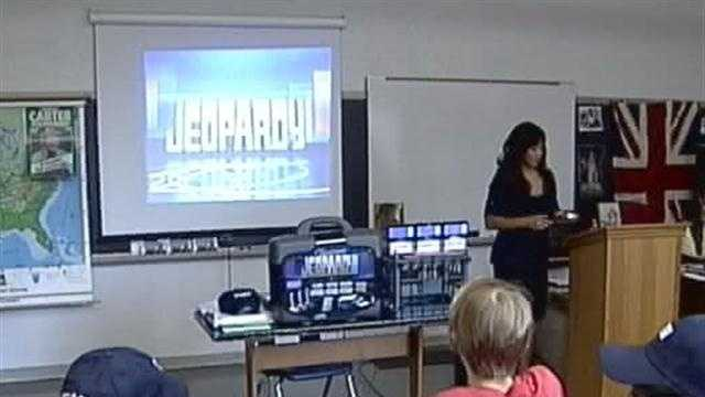 "A local high school student makes her debut on the ""Jeopardy!"" Teen Tournament on Monday."