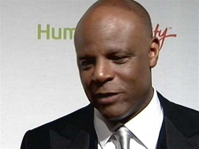 Seattle Seahawks announcer and former NFL star, Warren Moon