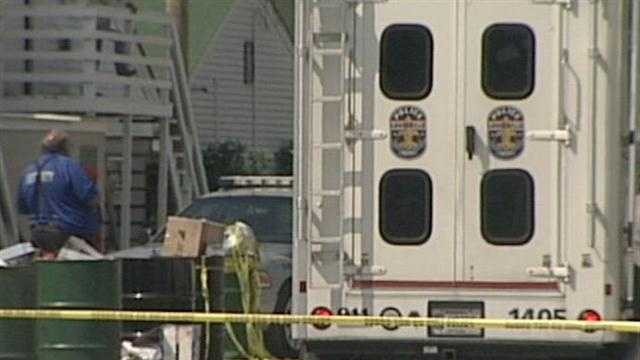 A murder investigation is under way after a body was found at Churchill Downs.