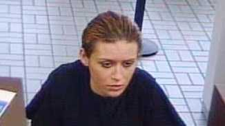 Seymour police say this woman robbed the PNC Bank on East Tipton Street Monday afternoon.