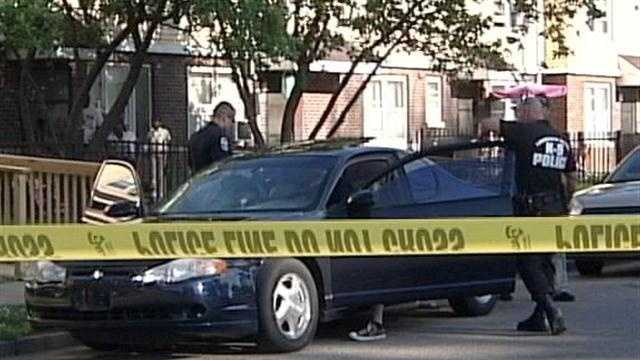 Louisville Metro Police investigate two shooting that happened less than hour apart and less than a mile from each other Thursday.