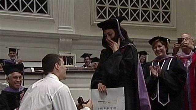 Kyle Kuric proposes to girlfriend