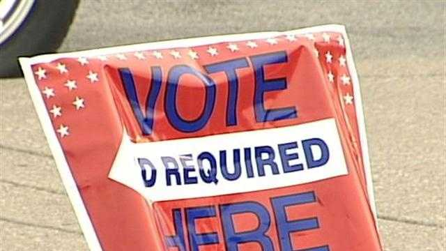 The Kentucky primary election is under way.