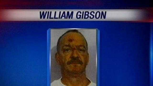 William Clyde Gibson is charged with the killing of a third woman Wednesday, and will face the death penalty.