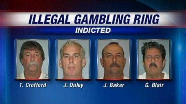 The U.S. Attorney's Office, working with the FBI and Jeffersonville police, take down an illegal gambling ring.