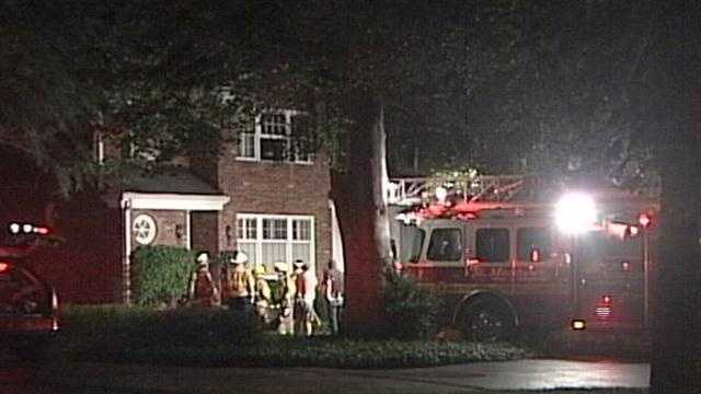 A condominium caught fire in St. Matthews.
