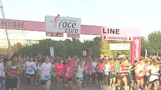 The city is gearing up for the Susan G. Komen Race for the Cure