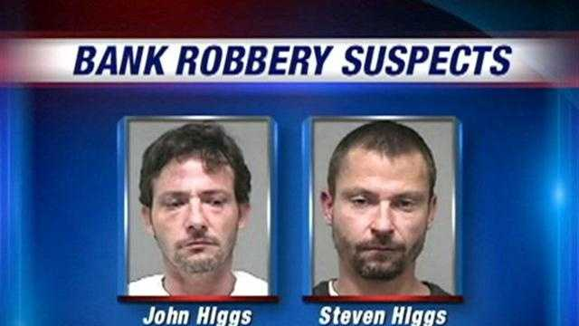 Louisville Metro Police arrest two brothers they say are responsible for a pair of bank robberies.