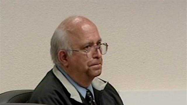 The trial resumes Tuesday for a Trinity High School teacher accused of inappropriately touching a student.