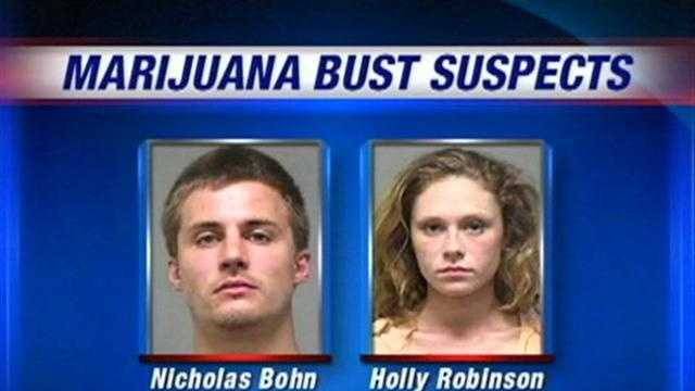 A Louisville couple is arrested after police said they had a marijuana growing in their home as well as packaged for sale.