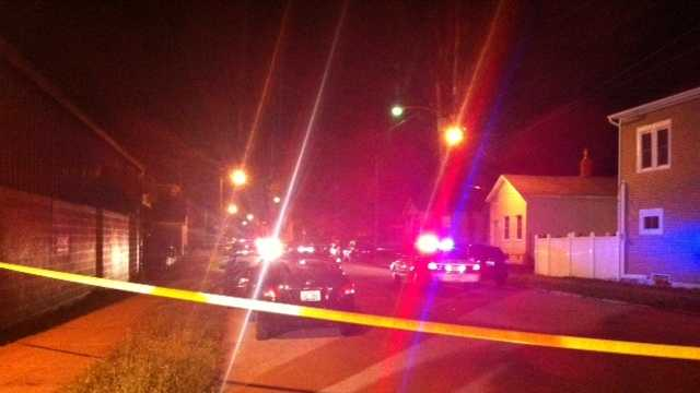 Louisville Metro Police investigate two shootings Monday evening.