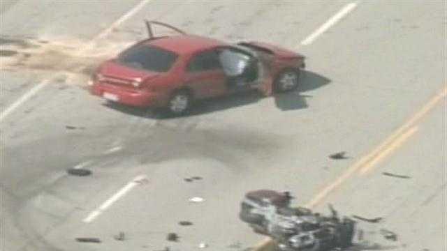 Louisville Metro Police investigate a fatal crash in far southwestern Jefferson County.