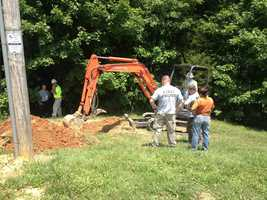 Police digging in Starlight, Ind. where suspected serial killer used to live