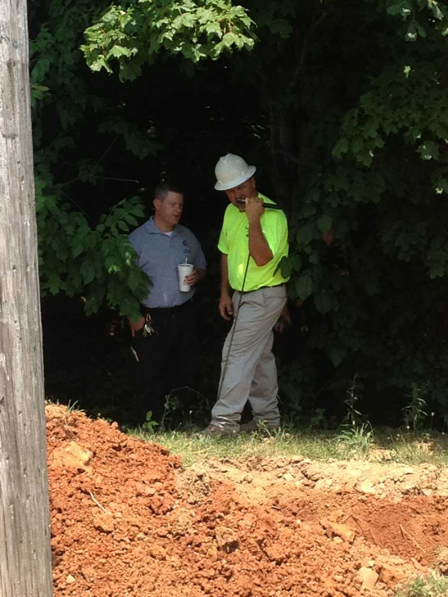 The man who owns the land where Gibson used to live told WLKY that Gibson admitted to burying two bodies in bags on the property.
