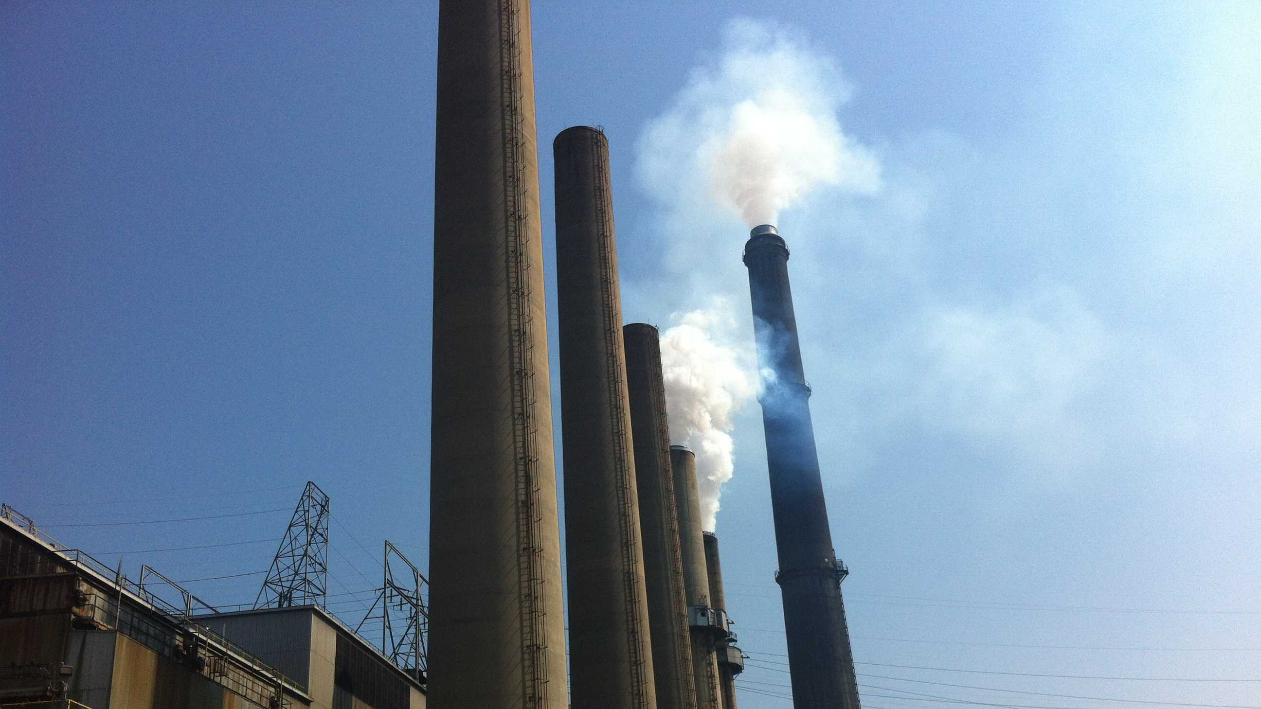 WLKY's Drew Douglas goes into an LG&E power plant, which is even hotter than usual on a triple digit day!
