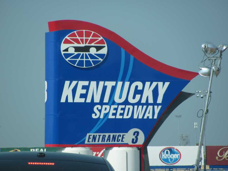 Kentucky Speedway hosted the NASCAR Sprint Cup Series Quaker State 400 on Saturday.