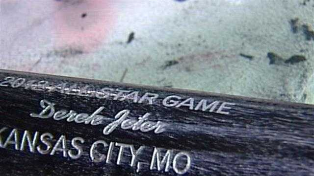 Specially made bats at the Louisville Slugger Factory will be used in next week's Major League Baseball All Star Game.