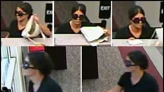 Police say this woman robbed the BB&T bank at Hurstbourne Parkway and Westport Road Monday afternoon.
