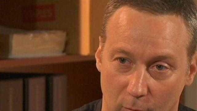 David Camm talks exclusively to WLKY's Duane Pohlman from prison.