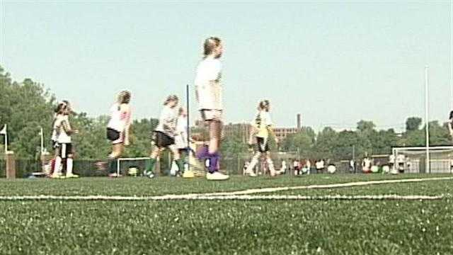 Recent high temperatures are cutting summer sports practices short.