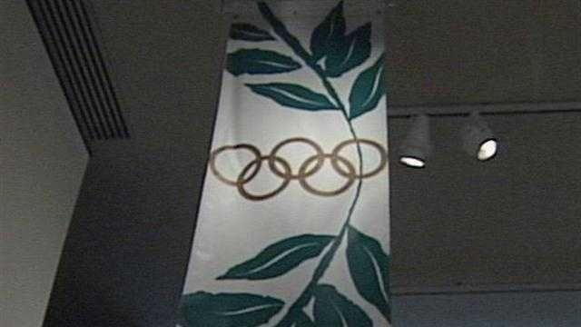 Major pieces of Olympic history are on display in Louisville.