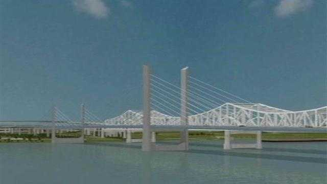 The federal government approves tolls to pay for a portion of the Ohio River Bridges Project.