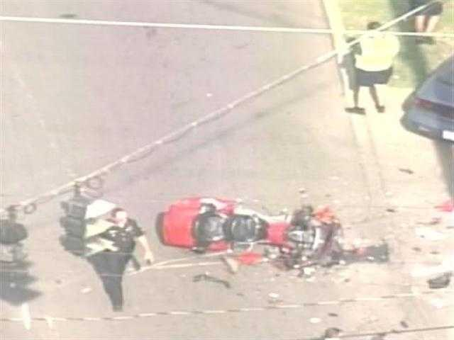 There has been an accident involving a motorcycle at 34th and Broadway.There is no word on injuries at this time.