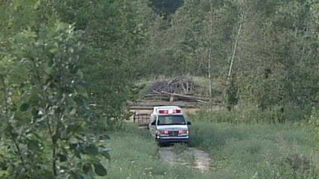 An Indiana man is dead after a tree he was cutting falls on him.